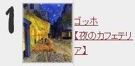 ゴッホ【夜のカフェテリア】