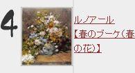 ルノアール【春のブーケ(春の花)】