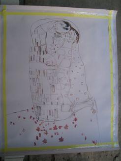 絵画販売(油絵複製画) アート名画館 作品制作過程